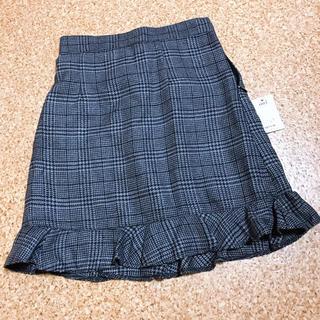 ティティアンドコー(titty&co)の新品タグ付き titty&co チェックスカート(ひざ丈スカート)