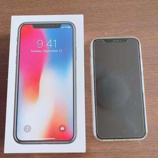 iPhone - iphone x SoftBank ホワイト