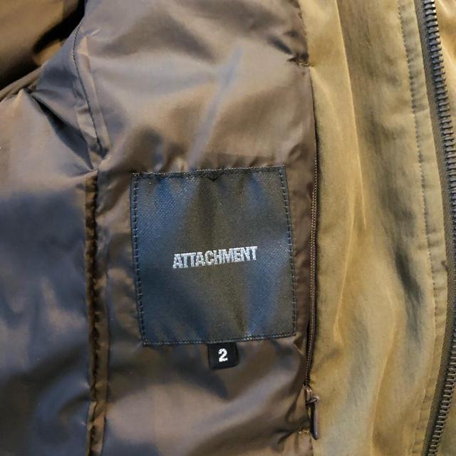 ATTACHIMENT(アタッチメント)のATTACHMENT アタッチメント ダウンジャケット サイズ:2 メンズのジャケット/アウター(ダウンジャケット)の商品写真