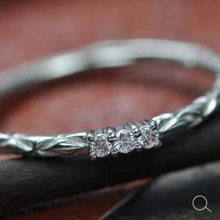 ベーネベーネ ピンクダイヤ 12.5号 k18(リング(指輪))