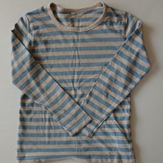 MUJI (無印良品) - 無印 ロングTシャツ 130
