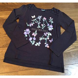 ANNA SUI mini - ANNA SUI mini ロングTシャツ 130