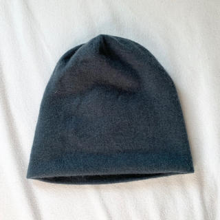 ルイヴィトン(LOUIS VUITTON)のLOUIS VUITTON ルイ ヴィトン カシミヤ100%ニットキャップ 帽子(ニット帽/ビーニー)