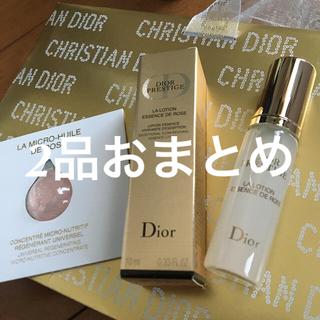 クリスチャンディオール(Christian Dior)の★プレステージ ディオール サンプル  美容液 ユイルド & 化粧水 10ml(美容液)