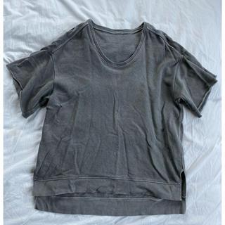 アパルトモンドゥーズィエムクラス(L'Appartement DEUXIEME CLASSE)のMUSE de DeuxiemeClasse / 加工Tシャツ(カットソー(半袖/袖なし))