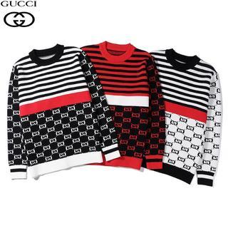 Gucci - 特価セール[2枚12000円送料込み]GUCCIグッチ 長袖 ニット/セーター
