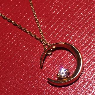 STAR JEWELRY - スタージュエリー starjewelry k18 moon ダイヤ ネックレス