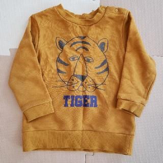 プティマイン(petit main)のプティマイン TIGERトレーナー 男の子 90(Tシャツ/カットソー)