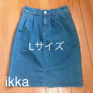 イッカ(ikka)のスカート ひざ丈スカート レディース(ひざ丈スカート)