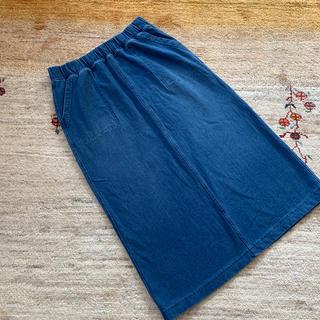 UNIQLO - ユニクロ ソフトデニムジャージースカート