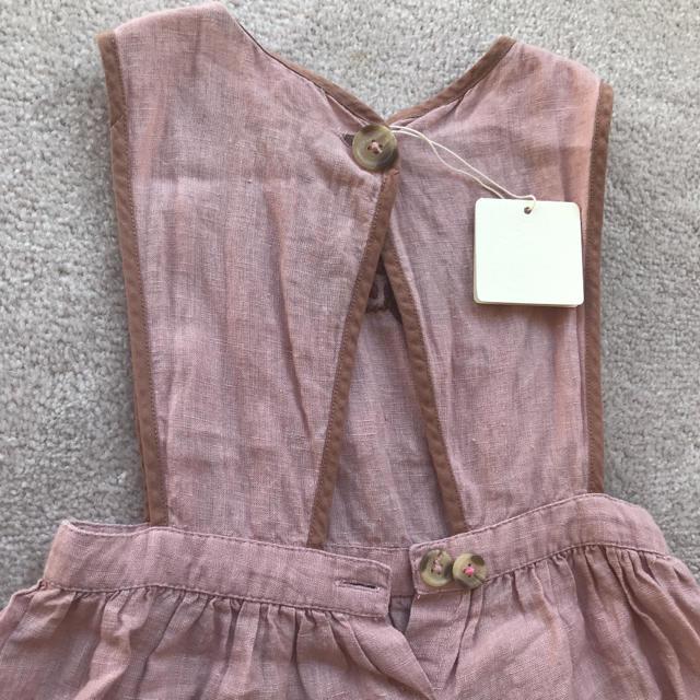 Caramel baby&child (キャラメルベビー&チャイルド)のApolina Embroidered Dress キッズ/ベビー/マタニティのキッズ服 女の子用(90cm~)(ワンピース)の商品写真