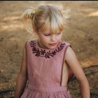 Caramel baby&child  - Apolina Embroidered Dress