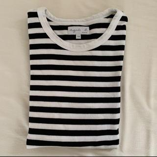 agnes b. - アニエスベー 定番ボーダーカットソー 長袖Tシャツ