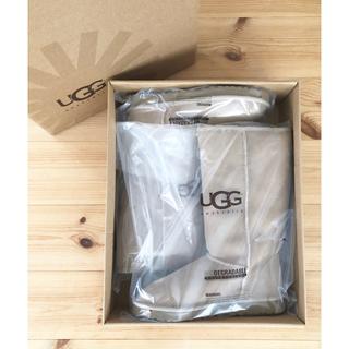 アグ(UGG)の新品未使用 UGG ブーツ ムートン ベージュ オーストラリア 26cm(ブーツ)