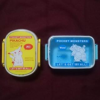 ポケモン - 中古品 ポケモン 弁当箱 2個 セット