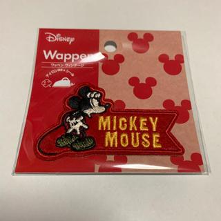Disney - ミッキー ワッペン:ディズニー ミッキーマウス アイロンワッペン