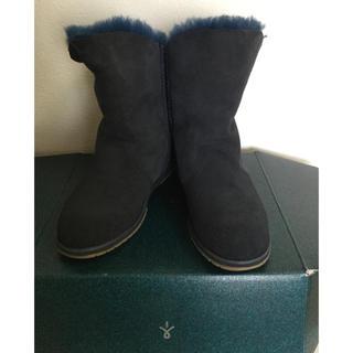 エミュー(EMU)の【EMU】エミューリアルムートンショートブーツ✨タグ付き未使用品お値下げ‼️(ブーツ)