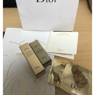 クリスチャンディオール(Christian Dior)のディオール プレステージ サンプル5点と冊子(美容液)