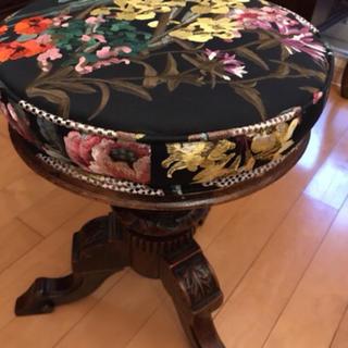 ピアノ椅子 アンティーク イギリス