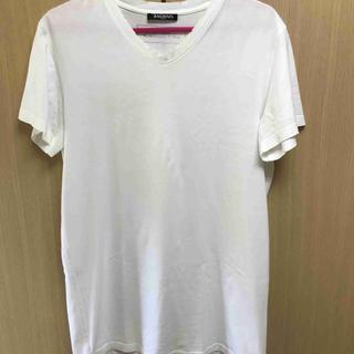 バルマン(BALMAIN)の国内正規 15SS BALMAIN バルマン Vネック Tシャツ 白 XS(Tシャツ/カットソー(半袖/袖なし))