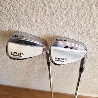 クリーブランドゴルフ(Cleveland Golf)のクリーブランド RTX4 フォージド ウェッジ(クラブ)