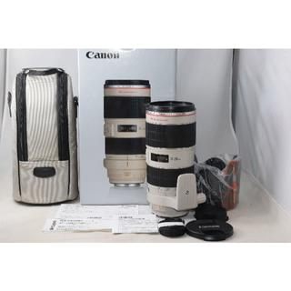 Canon - 綺麗な展示品 Canon EF 70-200mm F2.8 IS II 1年保証