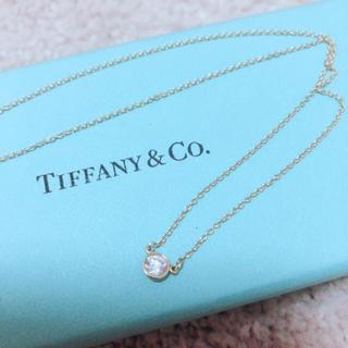 Tiffany & Co. - Tiffany& Co. ティファニー バイザヤード ネックレス 0.25ct