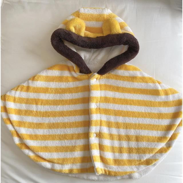 COMME CA ISM(コムサイズム)のコムサ あったかポンチョ☺︎アウター キッズ/ベビー/マタニティのベビー服(~85cm)(その他)の商品写真