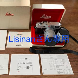 LEICA - LEICA M6 + SUMMICRON レンズ2本