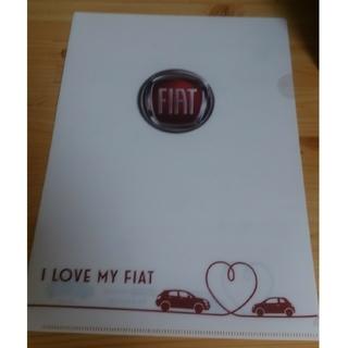 FIAT クリアファイル
