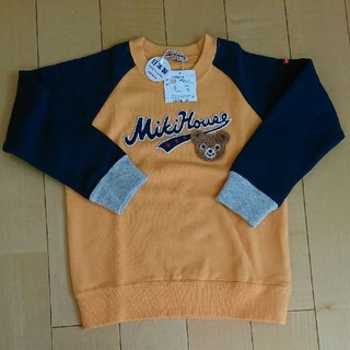 mikihouse - ミキハウス カレッジ風トレーナー 110cm【新品】