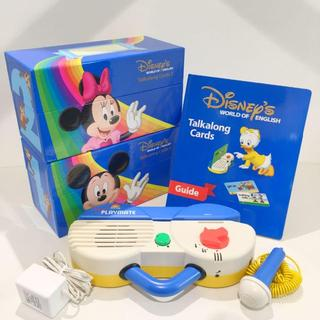 Disney - 【キレイ!】2011年購入!ディズニー英語システム 両面デジタルトークアロング