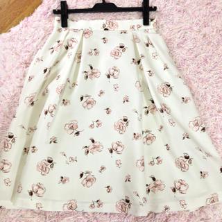 LAISSE PASSE - レッセパッセ    花柄スカート