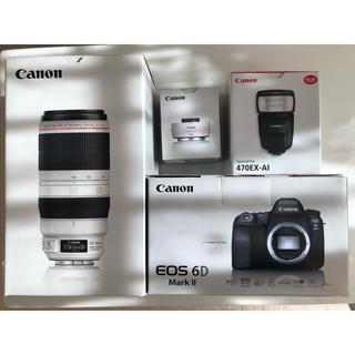 Canon - Canon 6D MARKⅡ 100-400Ⅱ 470AI テレコン1.4Ⅲ