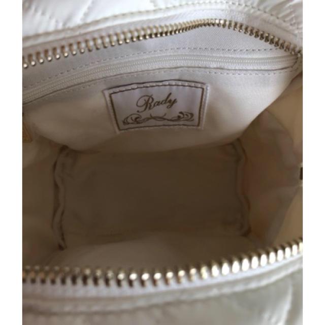 Rady(レディー)のRadyキルティングリュック レディースのバッグ(リュック/バックパック)の商品写真