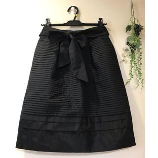 トゥービーシック(TO BE CHIC)の♡TO BE CHIC♡ おリボン付きスカート (ひざ丈スカート)