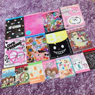 サンエックス - メモ帳 メモ用紙 キャラクター ディズニー まとめ売り セット ラブ友 ねこ