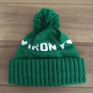 アイロニー(IRONY)のirony ニット帽(ニット帽/ビーニー)