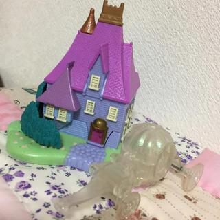 ポーリーポケット☆シンデレラのお城セット☆馬車☆人形
