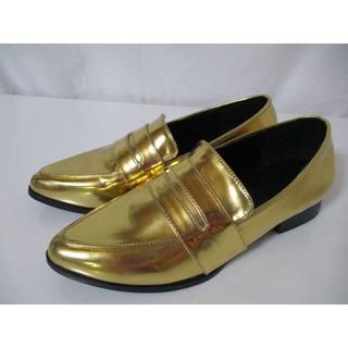 スパイラルガール(SPIRAL GIRL)のSPIRALGIRL(スパイラルガール) ゴールド ローファー(ローファー/革靴)