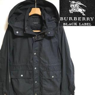 BURBERRY BLACK LABEL - 希少!BURBERRYバーバリーブラックレーベル ノバチェックマウンテンパーカー