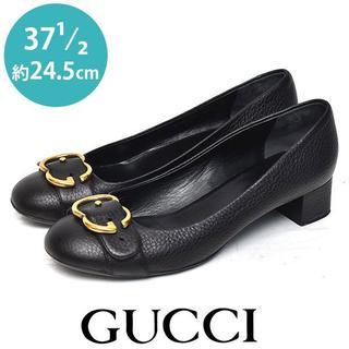 Gucci - 美品❤️グッチ インターロック パンプス 37 1/2(約24.5cm)