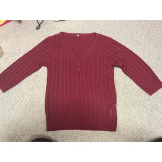 ニッセン(ニッセン)のニット 赤紫色 ニッセン(ニット/セーター)