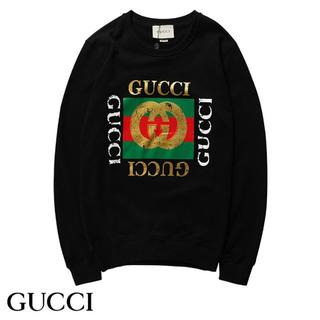 Gucci - [2枚8000円送料込み]GUCCIグッチ 長袖 トレーナースウェット男女兼用