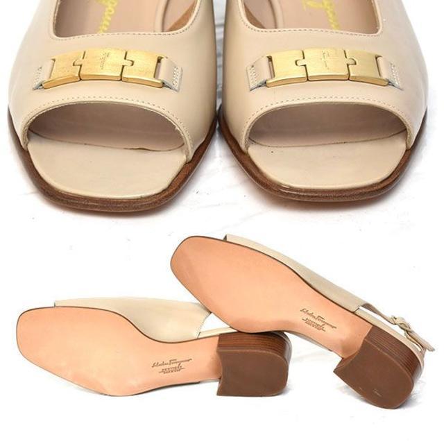 Salvatore Ferragamo(サルヴァトーレフェラガモ)の新品❤️フェラガモ バックバンド サンダル 6 1/2D(約23.5-24cm) レディースの靴/シューズ(サンダル)の商品写真