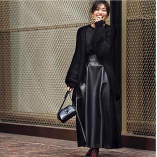 Drawer - 新品☆アッパーハイツ レザー スカート ブラック サイズ1