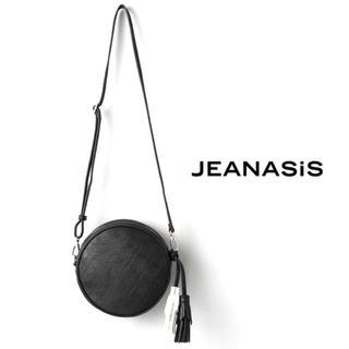 【JEANASIS】タッセル付きショルダーバッグ