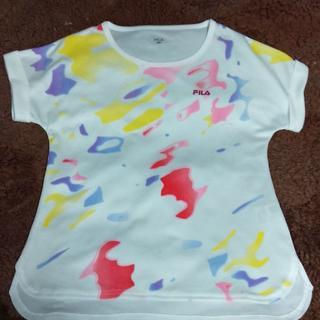 FILA - 美品 フィラ レディース テニス Tシャツ ホワイト M