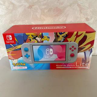 Nintendo Switch - 任天堂スイッチライト ザシアンマゼンタ