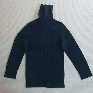 ドルチェアンドガッバーナ(DOLCE&GABBANA)のD&G 黒タートルネックセーター(ニット/セーター)
